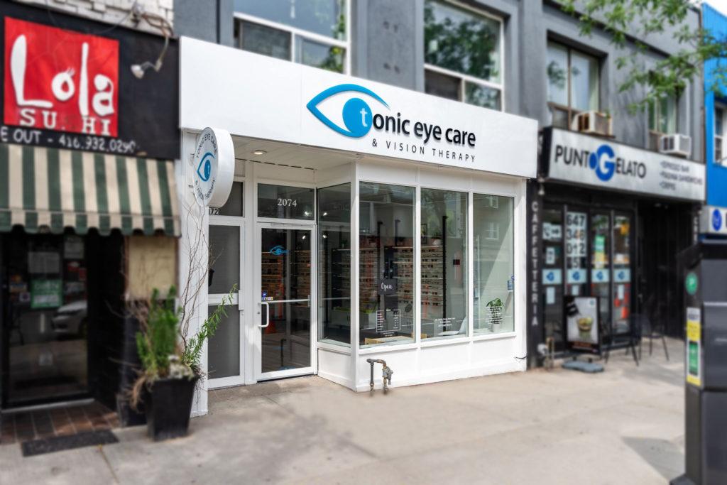 Tonic Eye Care Exterior